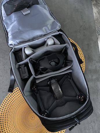 Dron DJI FPV Combo + Fly More KIT (3 baterie) + plecak + blok. ramion