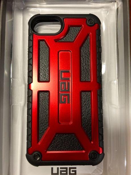 Чехол UAG Monarch crimson IPhone SE\8\7\6\6s