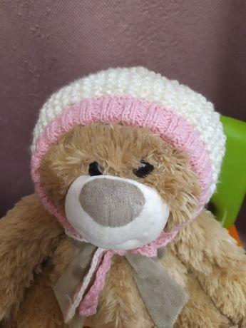 Детская вязанная шапочка