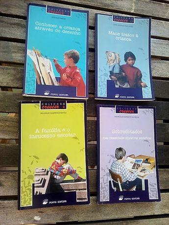 Oferta Envio: 4 livros Psicologia Criança: Desenho, Maus Tratos...