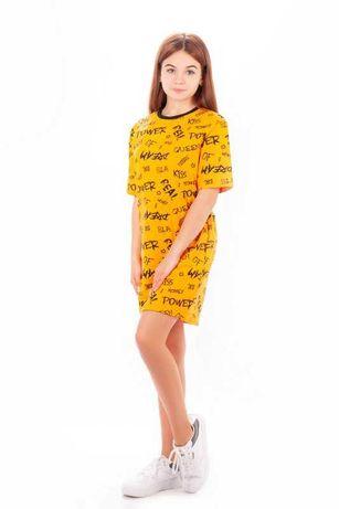 платье футболка для девочки