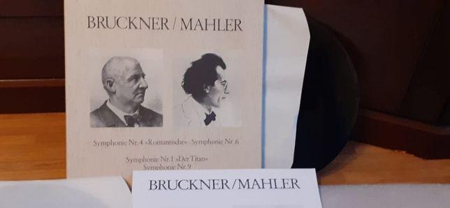 Box 5 sztuk Brucker Mahler płyty winylowe idealne