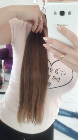 Włosy polskie dziewicze ścięte z głowy ludzkie naturalne
