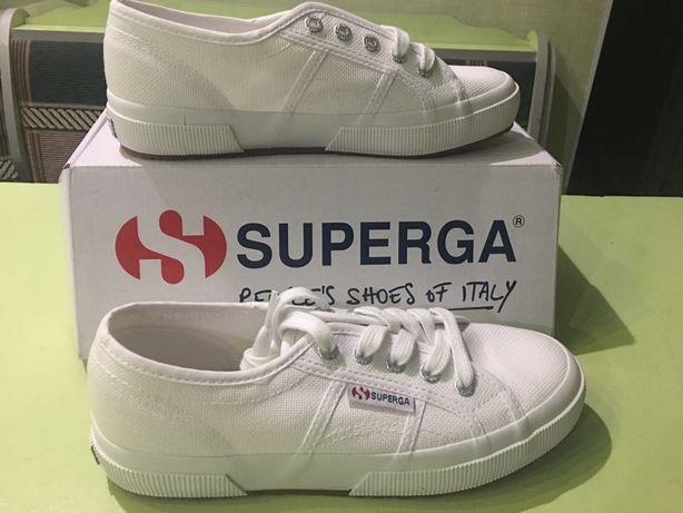 Кроссовки женские Superga White