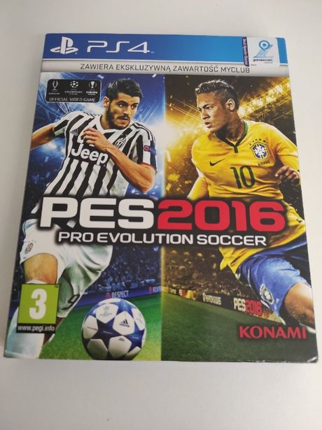 PES 2016 Pro Evolution Soccer PS4
