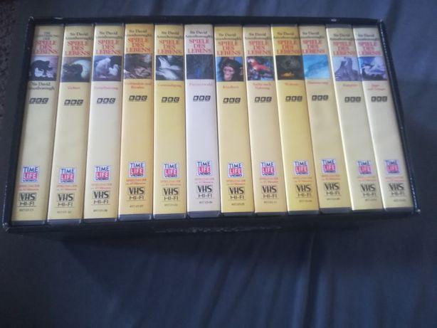 """Dokumen tBBC """"Tajemnice świata przyrody na kasetach VHS"""