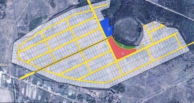 Продажа участка 78.9га по 100$/сот под жилую застройку 26км от КП.