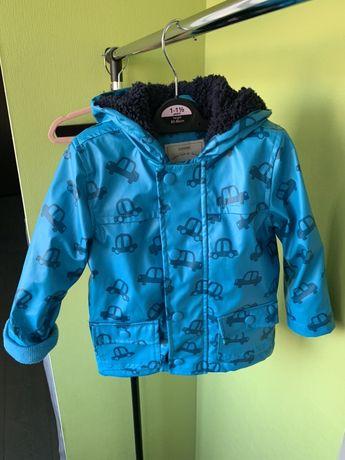 Утепленная куртка на осень 12-18 мес