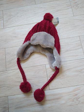 Новая! Шапка шапочка зимняя 48-50 см. объем