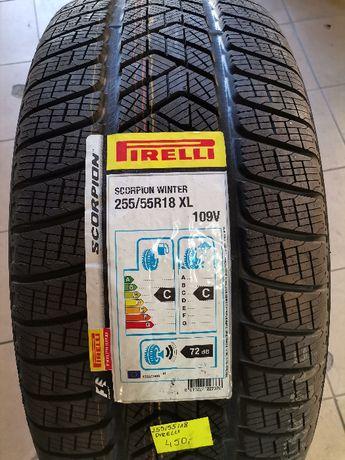 255/55R18 109V Pirelli SCORPION WINTER XL 19rok Nowe Zima