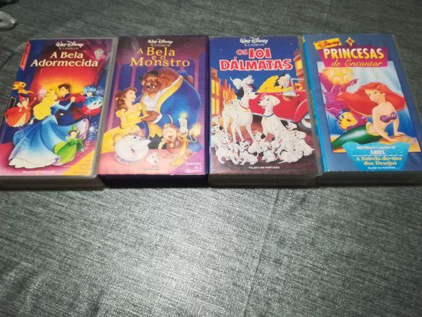"""Cassetes da """"Walt Disney"""" Clássicos"""