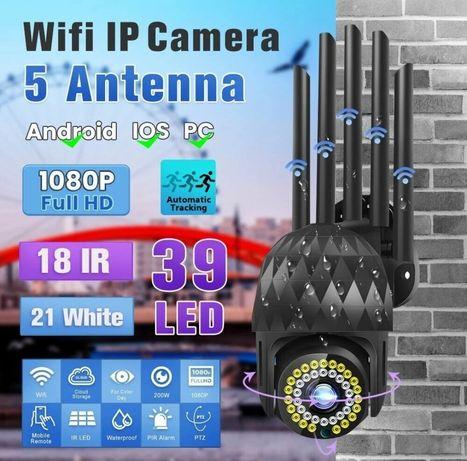 (NOVO) Câmera de vigilância IP 1080p ,360° e visão noturna