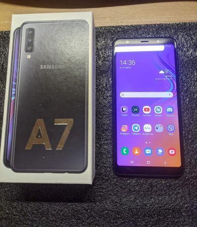 Samsung Galaxy A7 2018 A750FN 4/64Gb Black (SM-A750FZKUSEK)