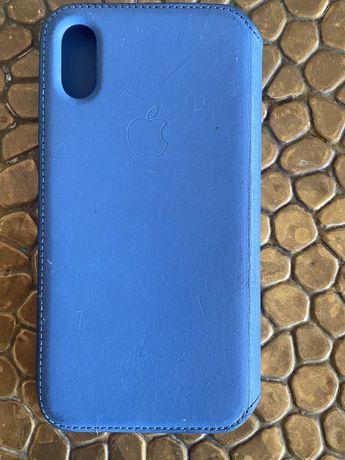 Etui pokrowiec case oryginalny do iphone X flip z klapką