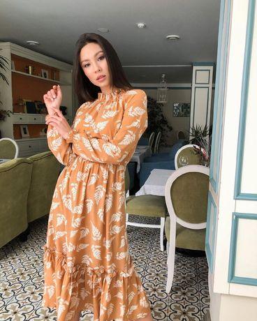 Платье из софта