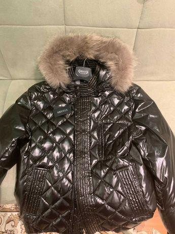 Мужская Meucci кожанная куртка