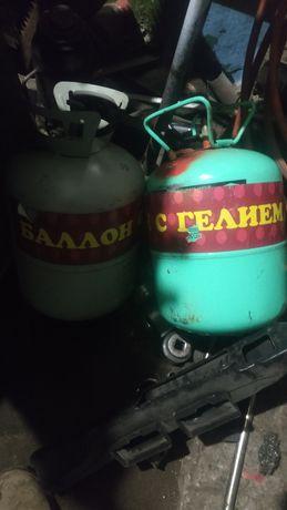 Баллоны для гелия с клапанами под шарики