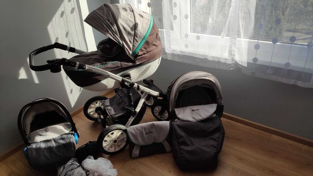 wózek Milu Kids Starlet 3w1 + gratis!