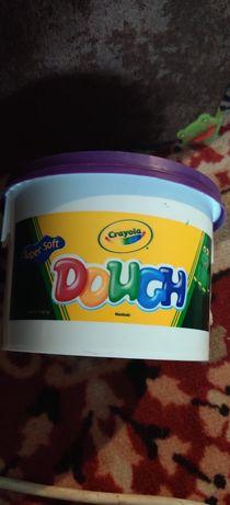 Crayola  super soft dough 1.36 кг пластилін