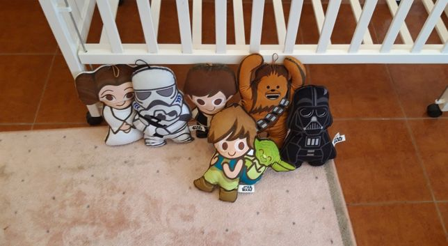 Star wars almofadas coleção
