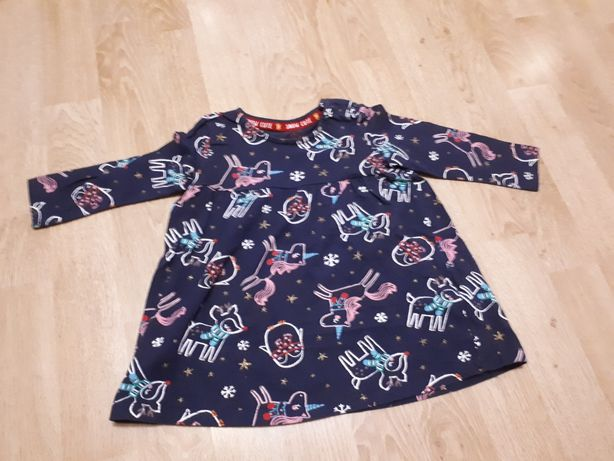 Sukienka, tunika dla dziewczynki rozmiar 74