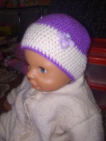 Шапочка шапка одежда Беби Борн Пупс
