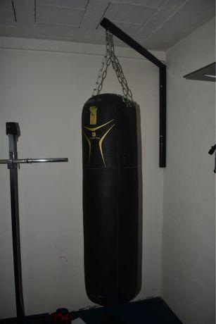 Saco de Boxe + Suporte de Parede