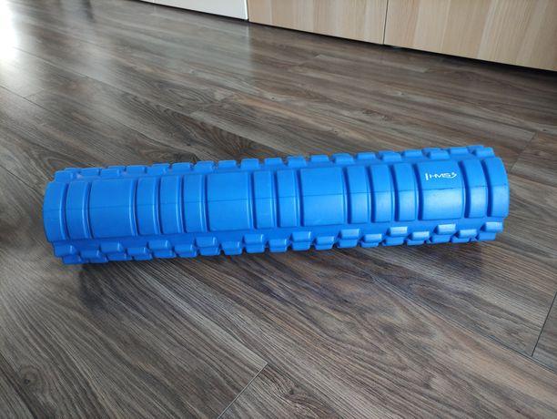 Wałek roller do ćwiczeń masażu fitness jogi HMS 61 cm- NOWY!