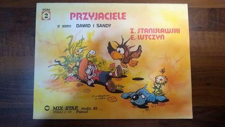 """Dawid i Sandy tom 2 """"Przyjaciele"""" studio 88, komiks."""