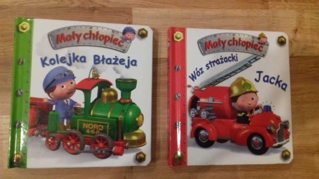 Książka Kolejka Błażejka i Wóz strażacki Jacka