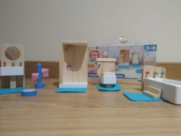Puzzle 3d casa de banho