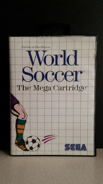 Gra World Soccer Sega Master System