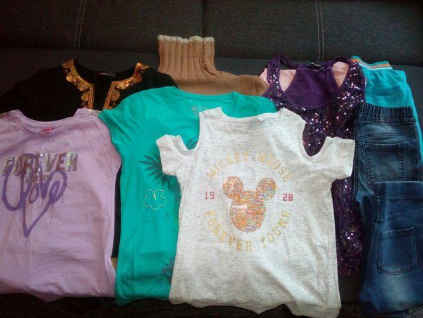 Ubrania dla dziewczynki 146/152