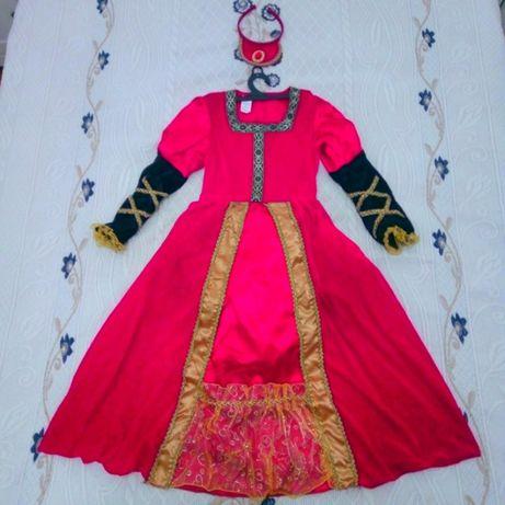 Fato de carnaval Princesa