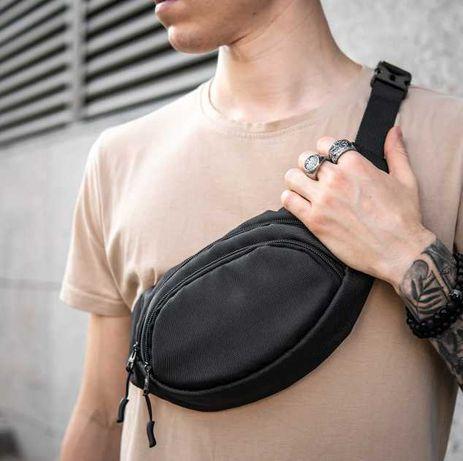 Поясная сумка бананка мужская нагрудная барыжка через плечо 22