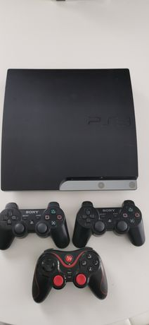 Konsola ps3 320 GB  3 pady i 12 gier