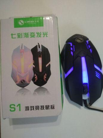 Компьютерная мышь Limei S1 E-Sport game mous с подсветкой новая