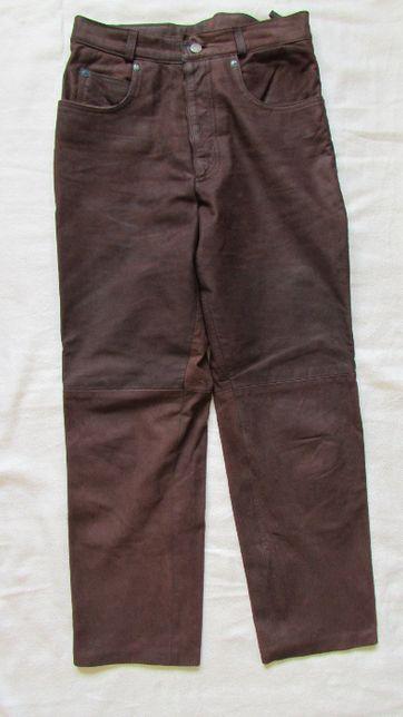 Spodnie skórzane damskie 38 ITINERANCE jak nowe