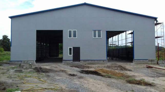Каркас 20х60 (1200 м2) ангар склад сто цех зернохранилище