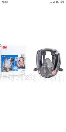 Полнолицевая маска аналог маски 3м 6800