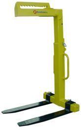 Porta-paletes monta-cargas regulável para grua de obra ou de camião