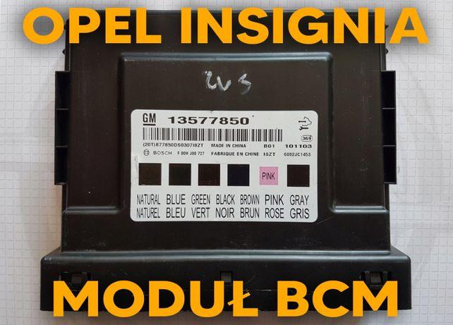 BCM Opel Insignia naprawa, programowanie