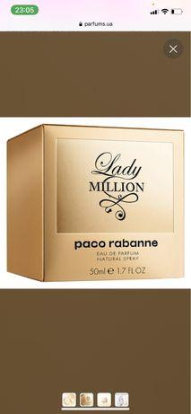 Paco rabanne million духи женские