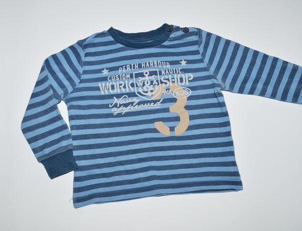 Bluzka niebieska Dodipetto 86 - 18 cm