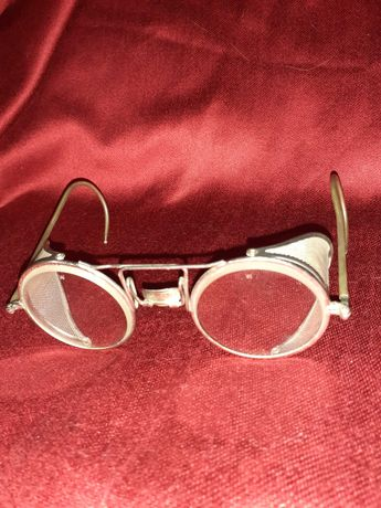 Antiguidade Industrial Oculos de Segurança  Marca Wilson