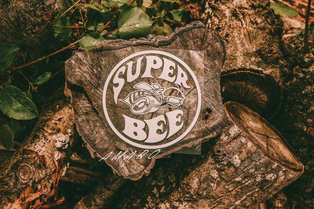 Autocolante para Carro Super Bee Nº4   NOVO
