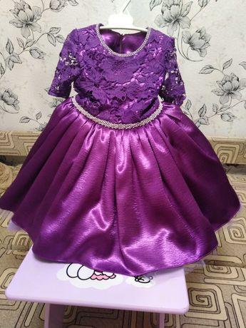 Нарядное платье на рост 110_122