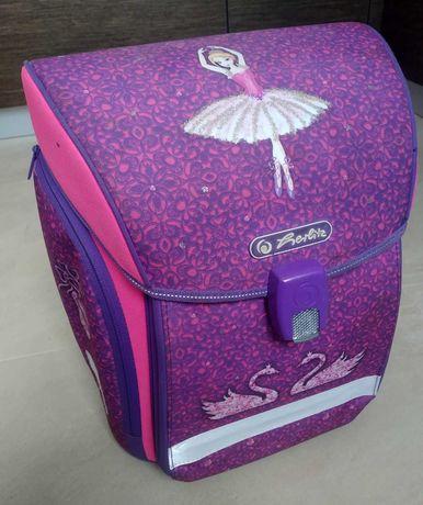 Ранец рюкзак школьный для девочки Herlitz Ballerina розовый, Германия