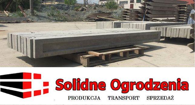 PROMOCJA 246x20x5 cm Producent Podmurówka panel ogrodzeniowy zbrojon