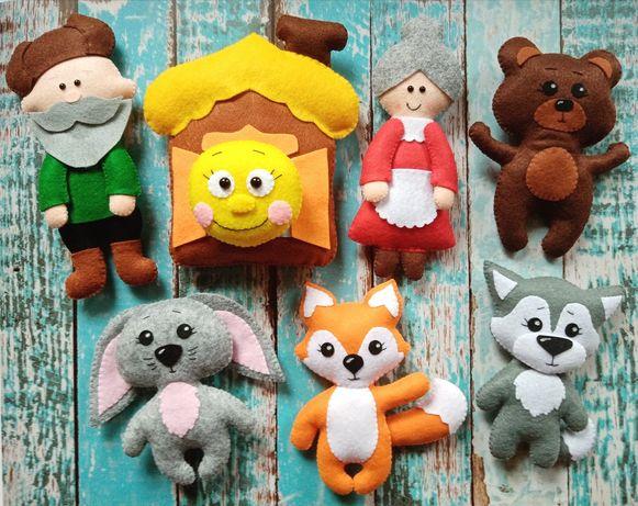 Игрушки из фетра ,развивающиеся,именные игрушки из фетра,ручная работа